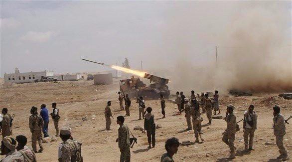قوات الجيش الوطني تهاجم مواقع الميليشيا شرق المحتلة صنعاء