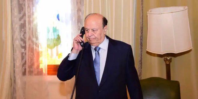 وجه بمعالجة جرحى الهجوم الارهابي.. الرئيس هادي يطلع على تطورات الأوضاع في محافظة الضالع